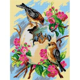 TAPESTRY CANVAS Spring Birds 30X40cm 3124J