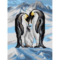 TAPESTRY CANVAS Penguin 30X40cm 3160J