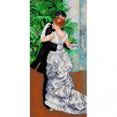 TAPESTRY CANVAS Dance in the City 35x70cm 1429Q
