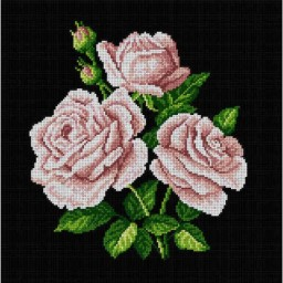 TAPESTRY CANVAS Bouquet of Roses 40X40cm 1817L