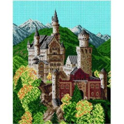 TAPESTRY CANVAS Castle 40X50cm 1262M