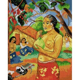 TAPESTRY CANVAS Where are you going 40X50cm 1904M