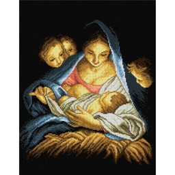 TAPESTRY CANVAS Holy Night 40X50cm 1942M