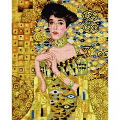 TAPESTRY CANVAS Adele Bloch Bauer 40X50cm 2194M