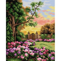 TAPESTRY CANVAS Secret Garden 40X50cm 2265M