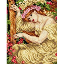 TAPESTRY CANVAS A Sea Spell after Dante Gabriel Rossetti 40X50cm 2539M