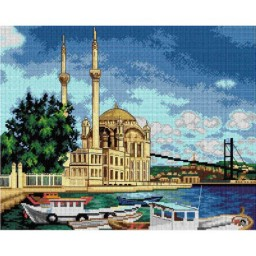 TAPESTRY CANVAS On the Sea 40X50cm 2734J