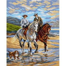 TAPESTRY CANVAS Pleasant Company after Heywood Hardy 40X50cm 2892M