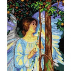 TAPESTRY CANVAS The Cloister or the World after A. Hacker 40X50cm 2946M
