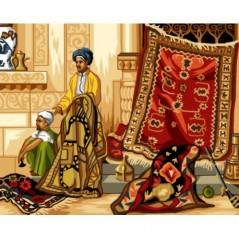 TAPESTRY CANVAS Carpet seller 40X50cm C126M