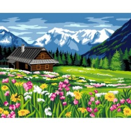 TAPESTRY CANVAS Spring 40X50cm C128M