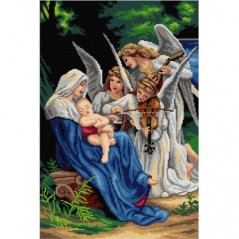 TAPESTRY CANVAS Virgin of the Angels 40X60cm 3168Q