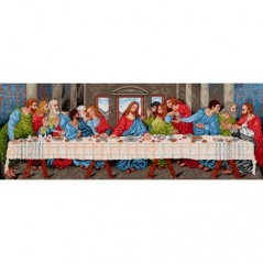 TAPESTRY CANVAS The Last Supper after Leonardo da Vinci 55 x 150cm 1420Y
