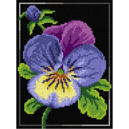 TAPESTRY CANVAS Violet 18x24cm 3009F