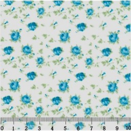Fabric for Patchwork, crafting and embroidery BLOOMING PEONIES N5 AM593005T