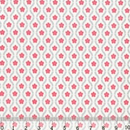 Fabric for Patchwork, crafting and embroidery BRIGHT FLOWERS N4 AM607004T
