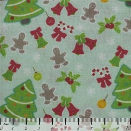 Fabric for Patchwork, crafting and embroidery NEW YEAR COLLECTION N20 AM611020T