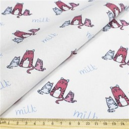 Fabric for Patchwork, crafting and embroidery CAT STORY N21 AM628021T