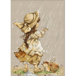 Cross Stitch Kit Summer Rain B1077