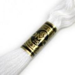 DMC Stranded Cotton Thread art. 117 col. B5200 White