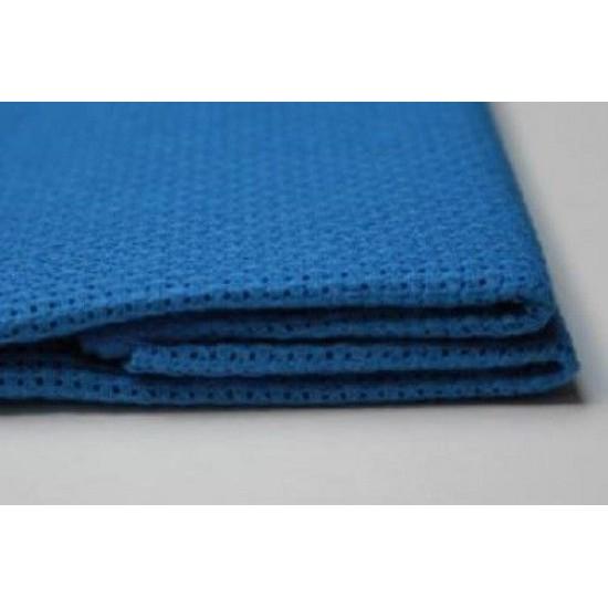 1 Pc Blue Cotton Aida 16ct 50 x 50 cm