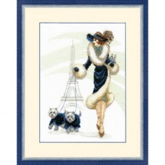 Cross Stitch Kit A walk in Paris BT-066