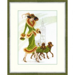 Cross Stitch Kit A walk in London BT-076