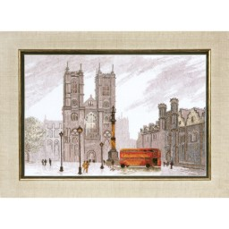 Cross Stitch Kit London. Westminster Abbey BT-086