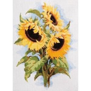 Cross Stitch Kit Sunflowers art. 262