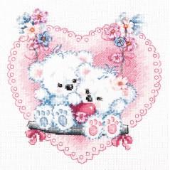 Cross Stitch Kit Happy love (wedding) art. 80-06