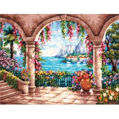 Cross Stitch Kit Adriatic art. 82-02