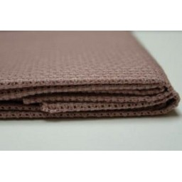 1 Pc Cocoa Cotton Aida 11ct 50 x 50 cm