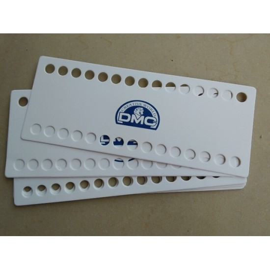 10 pcs DMC threads organizer 30 holes no numbers