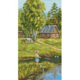 Cross Stitch Kit Summer Holidays PS-1264