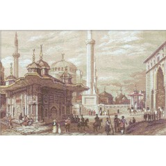 Cross Stitch Kit Golden Series GM-1292 Istanbul. Fountain of Sultan Ahme