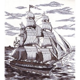 Cross Stitch Kit On the Broad Seas KR-1296
