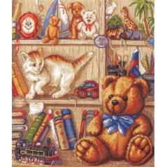 Cross Stitch Kit A New Neighbour D-1298