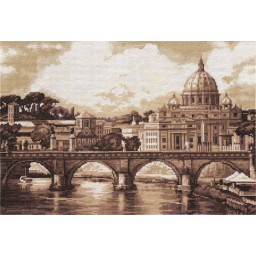 Cross stitch kit Golden Series GM-1332 Rome. St Paul's Cathedral