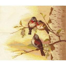 Cross Stitch Kit Birds PT-1388