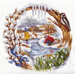 Cross Stitch Kit Spring Creek D-1236