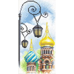 Cross Stitch Kit Lamp-posts GM-0363