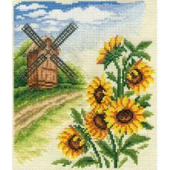 Cross Stitch Kit Windmill PS-0384