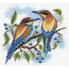 Cross Stitch Kit Birds PS-0429