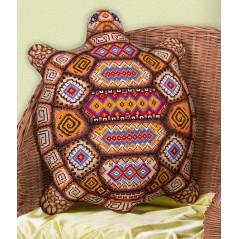 Cross Stitch Kit Tortoise (Cushion Front) PD-1551