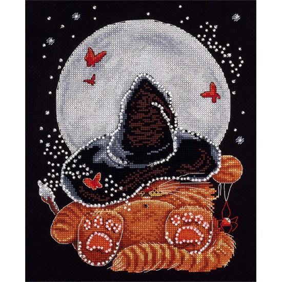 Cross Stitch Kit Moonlit Dream J-1552