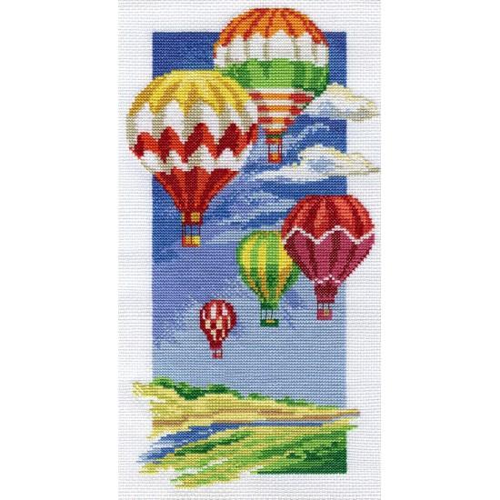 Cross Stitch Kit Air Balloons PR-0531