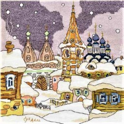 Cross Stitch Kit Russia. Suzdal AS-0606