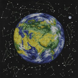 Cross Stitch Kit Planet Earth PZ-1764