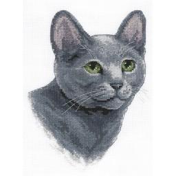 Cross stitch kit Cat J-1815