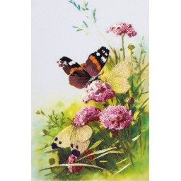 Embroidery Kit Living Picture Butterflies JK-2092